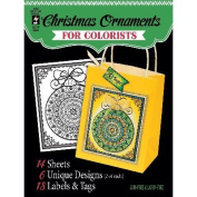 Hot Off The Press Colorist Colouring Book 13cm x 15cm -Fancy Christmas