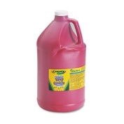 Washable Paint, Red, 3.8l Sold as 1 Each