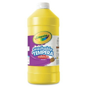 Artista II Washable Tempera Paint, Yellow, 950ml, Sold as 1 Each