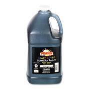 Ready-to-Use Tempera Paint, Black, 3.8l Sold as 1 Each