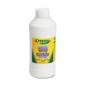 Washable Paint, White, 470ml, Sold as 1 Each