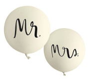 Kate Spade New York Bridal Balloon Set, Mr. And Mrs.