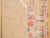 April Showers Paper Kit - Spring & Craft & Hobby Supplies