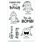 Your Next Stamp Clear Stamps 10cm x 15cm -Boom!