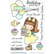 Your Next Stamp Clear Stamps 10cm x 15cm -Jessica W/Cupcakes