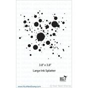 Your Next Stamp Clear Stamps 10cm x 10cm -Large Ink Splatter