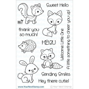 Your Next Stamp Clear Stamps 10cm x 15cm -Woodland Cuties