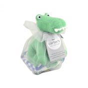 Carter's Gator Bath Toy and Washcloths