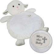 Mary Meyer Bless this Baby Lamb Baby Mat, 80cm x 60cm
