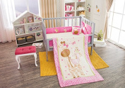 "Giraffe ""Magui"" Baby Crib Bedding Nursery Set 4pcs Limited Edition"