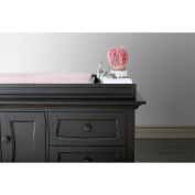 Eco Chic Baby Dorchester Changing Topper in Slate Finish