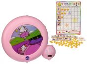 Kid'Sleep Classic Sleeping and Wake Alarm & Nightlight with Reward Chart, Pink