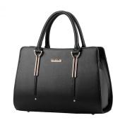 Donalworld Women OL Work Office Tote Manmade Leather Shoulder Handbag