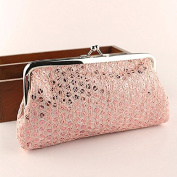 Tonsee Fashion Lady Lovely Style Hasp Sequins Purse Clutch Bag Party Handbag
