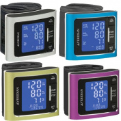 Veridian Metallic Style blood pressure Wrist monitor BLUE size 5 1/2- 7 5/8