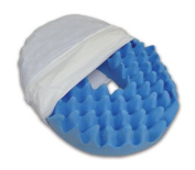 Convoluted Foam Softeze Ring 16_ x 14 1/8 White Cover