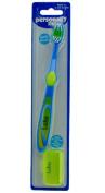 "Personally Me Kids Soft Toothbrush Childrens Personalised Name ""LUKE"" Blue & Green 3+"