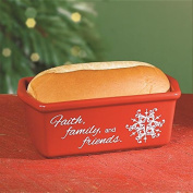 "Abbey Press 6 x 8.9cm x 5.7cm ""True Gifts of Christmas"" Loaf Pan, Mini"