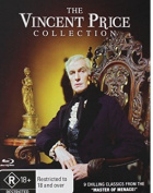 The Vincent Price Collection [Regions 1,4] [Blu-ray]