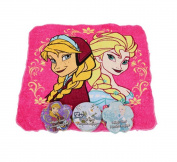Disney Frozen Expanding Magic Towels! Drop them in water and watch them grow! Featuring Queen Elsa, Princess Anna & Olaf! Set of 4