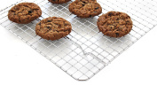 Oven Safe, Heavy Duty Stainless Steel Baking Rack & Cooling Rack, 30cm x 43cm Fits Half Sheet Pan