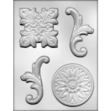 CK Products Baroque #4 Chocolate Mould