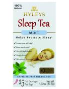Hyleys Sleep Tea, Caffeine Free 100% Natural Herbal Tea Promoting a Good Night Sleep, 25 Tea Bags