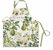 Avocado Apron Cotton Michel Design Works Kitchen Cook Hostess Gift
