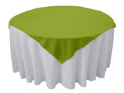 Tablecloth Polyester Overlay Square 230cm Avocado By Broward Linens