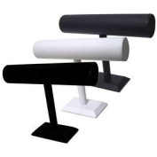 Medium T Bar Display - black leatherette