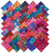 Kaffe Fassett Collective BOLD BRIGHT Precut 13cm Cotton Fabric Quilting Squares Charm Pack Assortment Westminster Fibres