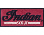 Indian Motorcycle Red Scout Patch