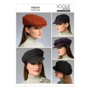 Vogue Patterns V9044 Hats Sewing Template, All Sizes