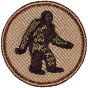 Bigfoot Patrol Patch - 5.1cm Round.