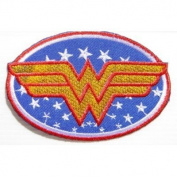 Wonder Women Superhero Comics Cartoon Logo Kid Baby Girl Jacket T shirt Patch Sew Iron on Embroidered Symbol Badge Cloth Sign Costume By Prinya Shop