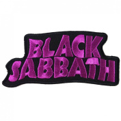 BLACK SABBATH heavy metal punk rock band Iron On Patches # WITH FREE GIFT