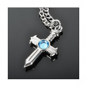 Fairy Tail Grey Fullbuster Cross Necklace Cosplay
