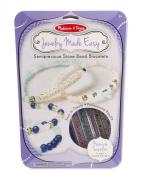 Melissa & Doug Semiprecious Bead Bracelet Set