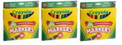 Crayola 10ct Classic Broad Line Markers