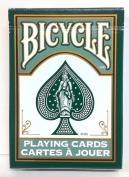Bicycle 808 Fashion Dark Green Rider Back Playing Cards