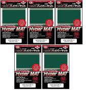 Hyper Matte Sleeves (400 Pack), Green