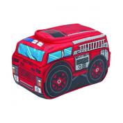 Smash Enterprises Broomz Car Shape Lunchbag, Firetruck, Red