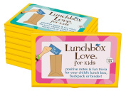 New! Lunchbox Love Notes for Kids Volumes 89-96 by Say Please. 96 positive notes with jokes & fun facts