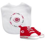 Baby Fanatic Bib with Pre-Walkers, Cincinnati Reds