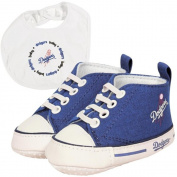 Baby Fanatic BFA-LAD30002 Los Angeles Dodgers MLB Infant Bib and Shoe Gift Set