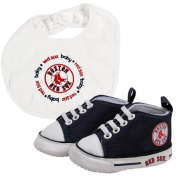 Baby Fanatic Bib with Pre-Walkers, Boston Red Sox