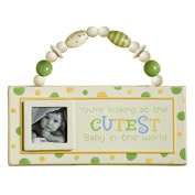 Grasslands Road Baby Love Ceramic Plaque - You're Looking at The Cutest Baby