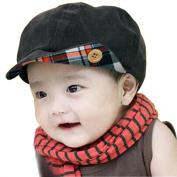 Children Corduroy Newsboy Cap Baby Winter Hat