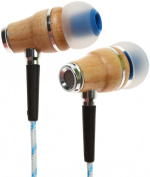 Symphonized NRG Premium Genuine Wood In-ear Noise-isolating Headphones with Microphone