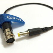 Eonvic cables- DC 12v Male to 12 Pin Hirose Cable GH4 Power B4 1.7cm Fujinon Canon Nikon Lens